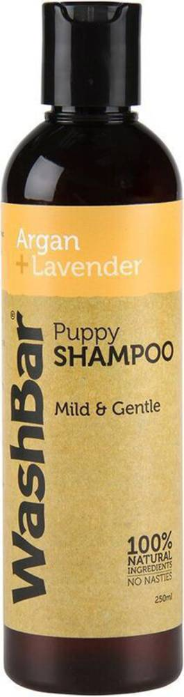 WashBar 100% Natural Puppy Shampoo - Argan & Lavender - 250ml