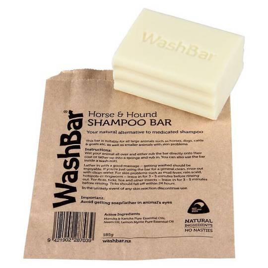 Wash Bar Horse & Hound Shampoo Bar Soap 185g