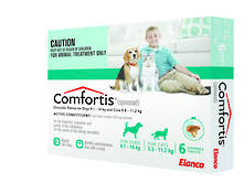 Comfortis Chewable Flea Treatment for Large Cats and Medium Dogs (6)