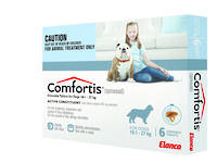Comfortis Chewable Flea Treatment for Large Dogs (6) 35g