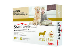 Comfortis Chewable Flea Treatment for Very Large Dogs (6)