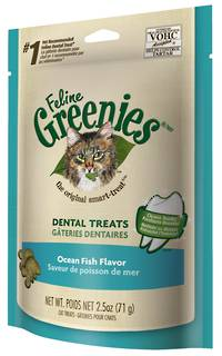 Greenies Dental Cat Treats Ocean Fish 71g