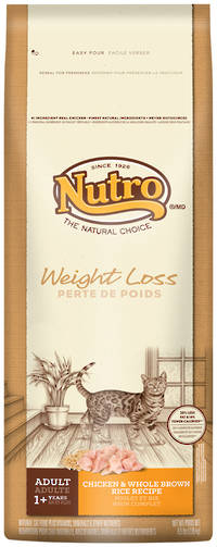 Nutro Natural Choice Weight Loss Adult Cat Wholesome Essentials / Chicken / 2.95kg