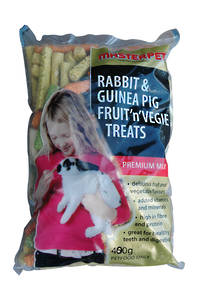 Rabbit & Guinea Pig Fruit 'N' Vegie Treats 400g