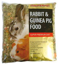 Rabbit & Guinea Pig Food / Super Prenium Diet 2.5Kg