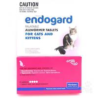 Endogard Palatable Allwormer Tablet for Cats & Kittens (5kg/4tablet)