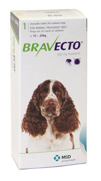Bravecto Chewable Flea Treatment for Medium Dogs (1)