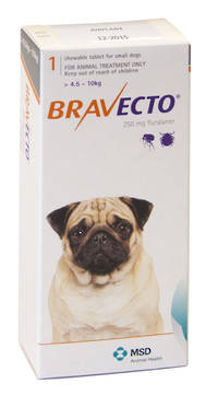 Bravecto Chewable Flea Treatment for Small Dogs (1)