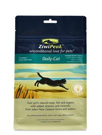 ZiwiPeak Daily Cat Air Dried Venison & Fish Cuisine 400g