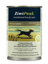 ZiwiPeak Daily Dog Moist Beef Cuisine 370g