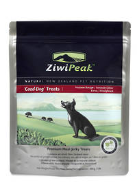 ZiwiPeak Good Dog Air-Dried Venison Treats 454g