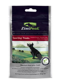 ZiwiPeak Good Dog Air-Dried Venison Treats 85.2g