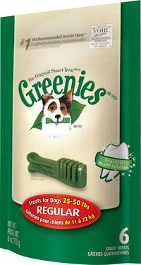 Greenies Canine Mini Treats for Regular Dogs 170g / 6 Dental Chews
