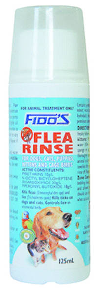 Fido's Flea Rinse 125ml