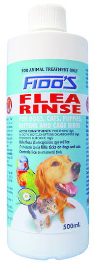 Fido's Flea Rinse 500ml