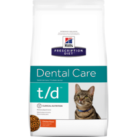 Hill's Prescription Diet Feline Dental Care t/d for Cats 3kg