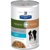 Hill's Prescription Diet Canine Metabolic Plus Mobility Cans Tuna & Vegetable Stew for Dogs 354g