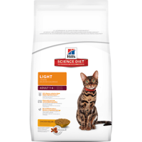 Hill's Science Diet Adult Cat Light 2Kg