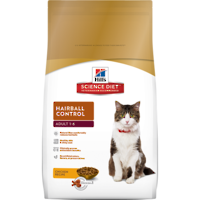 Hill's Science Diet Hairball Control for Adult Cat 4Kg