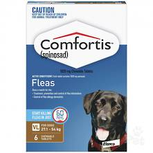 Comfortis Chewable Flea Treatment for XLarge Dogs  (3 pack) 20g