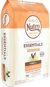 NUTRO Wholesome Essential / Lite Weight LossAdult Dog - Chicken, Whole Brown Rice & Sweet Potato Recipe - 13.61kg