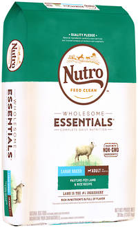 NUTRO Wholesome EssentialLarge Breed Adult Dog - Lamb & Brown Rice Recipe - 13.61kg