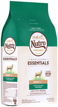 NUTRO Wholesome EssentialPuppy - Lamb & Brown Rice Recipe -2.27kg