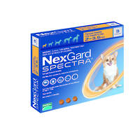 NexGard Spectra Chewables Flea & Worm Treatment for Very Small Dogs (3)