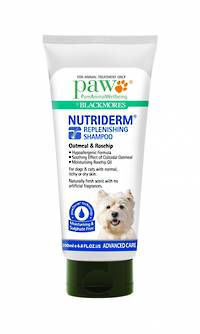 Blackmores PAW NUTRIDERM Gentle Replenishimg Shampoo 200ml