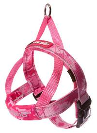 EAZYDOG Quick Fit Harness / Pink Camo / S