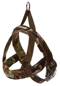 EAZYDOG Quick Fit Harness / Camo / S