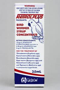 Fido's Avitrol Plus Bird Wormer 25ml